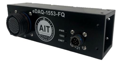 MIL-STD-1553 – Avionics Interface Technologies – Module durci d'acquisition Ethernet