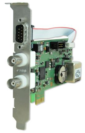 Carte récepteur et générateur IRIG PCIe – MEINBERG – TCR180PEX