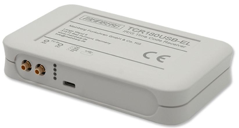 Horloge USB-IRIG – MEINBERG – TCR180USB-EL