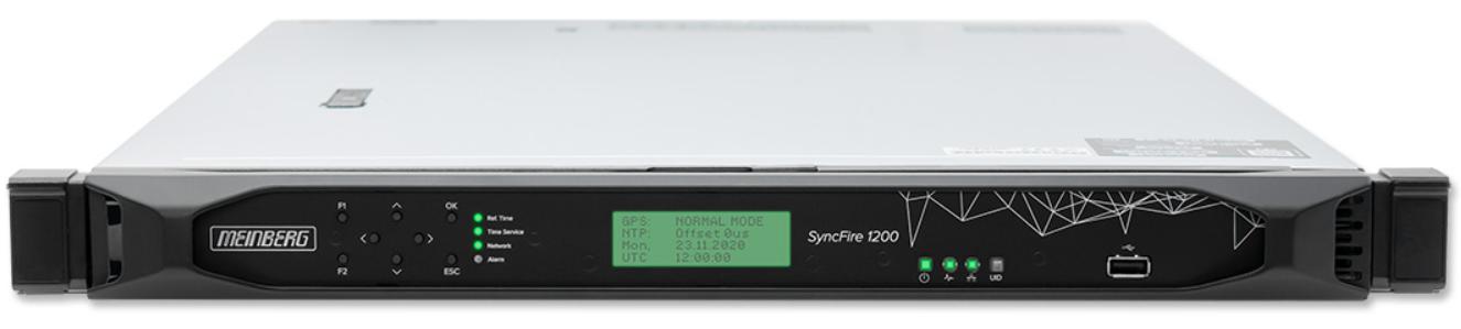 Serveur NTP – MEINBERG – SyncFire 1200