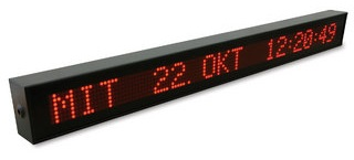Horloge Digitale NTP (large display) – MEINBERG – VP100