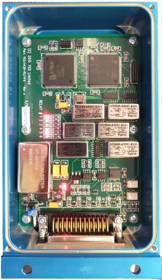 Convertisseur ARINC 429 2×3 sorties relais