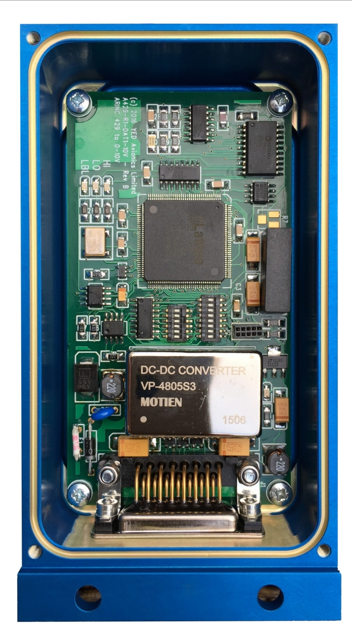 Convertisseur ARINC 429 to Analog 0-10V DC